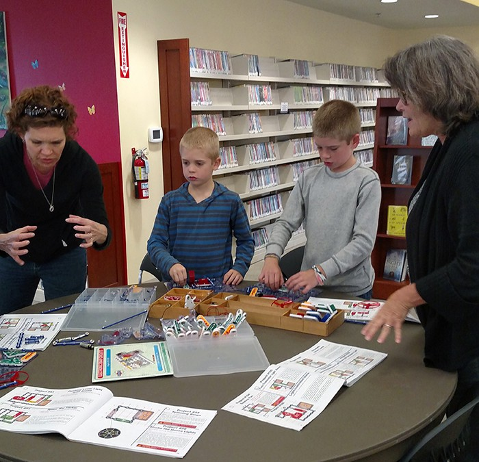 Ms. Barbara talks about Snap Circuits