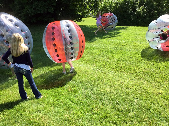 inside a knockerball